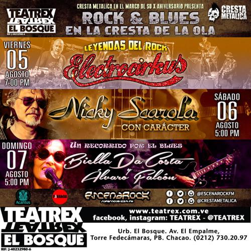 Rock & Blues Flyer